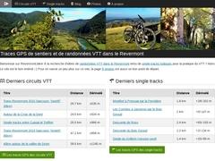 Traces GPS de sentiers et de randonnées VTT dans le Revermont