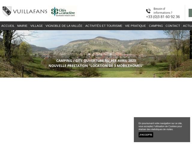 Mairie de Vuillafans
