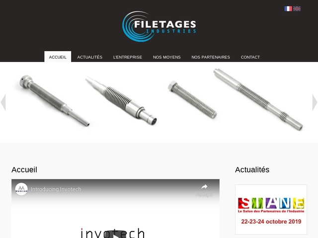 Filetages Industries Sarl - (60) - Taillage-Filetage-Roulage