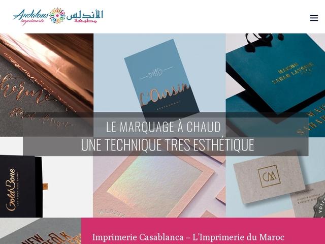 Imprimerie - Casablanca Maroc