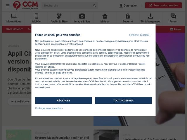CommentCaMarche - Télécharger - Logiciels gratuits