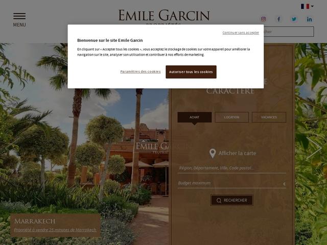 Immobilier de prestige : achat, ven.. - Emile Garcin