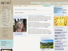 Annuaire du Yoga et de l'Ayurvéda