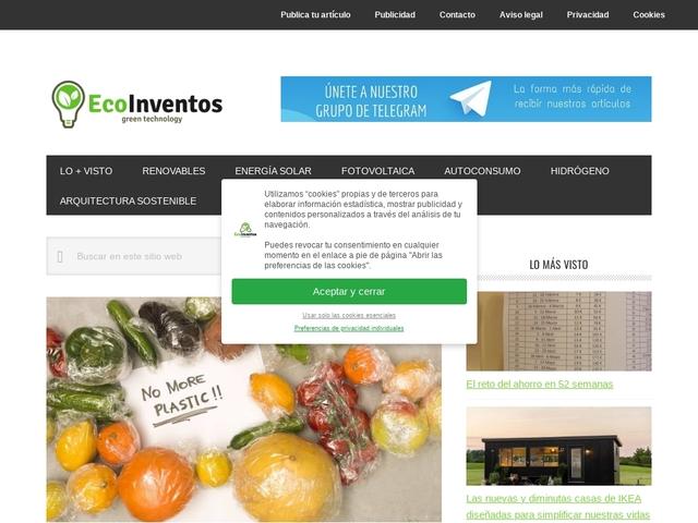 EcoInventos - Tu blog de gadgets ecológicos