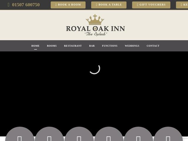 Royal Oak Inn - Little Cawthorpe - Louth - Lincolnshire - England.