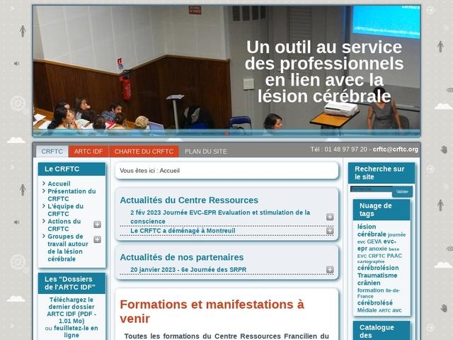 Centre Ressources Francilien du Traumatisme Crânien
