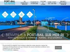 Le port de Portbail