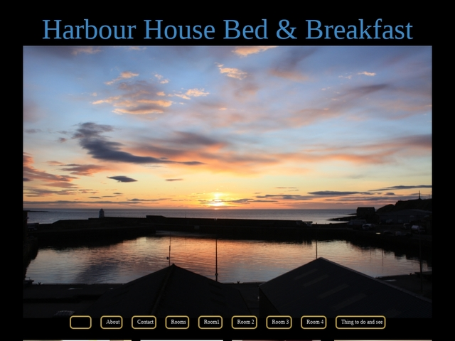 HARBOUR HOUSE, CAITHNESS, THE HIGHLANDS.