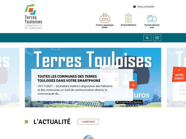 Accueil - CC Terres Touloises