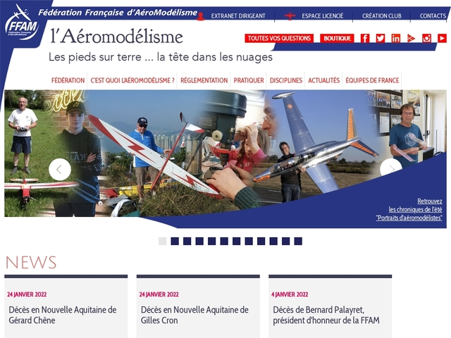 FFAM - Fédération Française d'Aéromodélisme