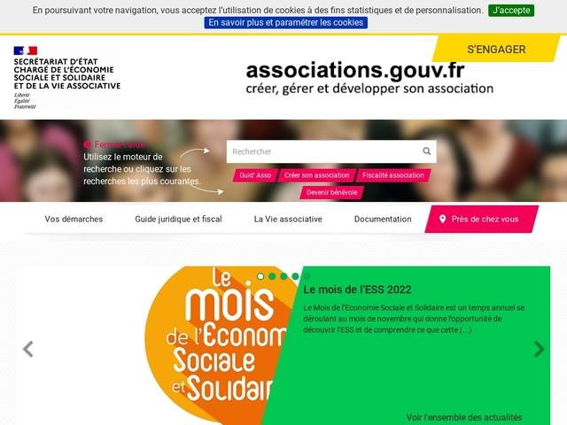 Associations.gouv.fr | Créer, gérer et développer son association