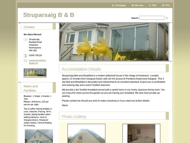 Struparsaig B&B - 01505 705129