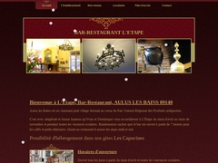 L'Etape, Bar-Restaurant, AULUS LES BAINS 09140
