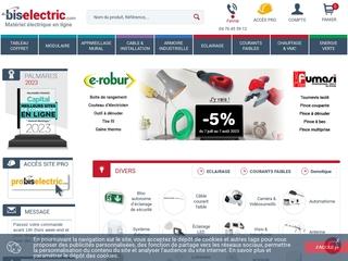 Commandez votre matériel électrique sur bis-electric.com