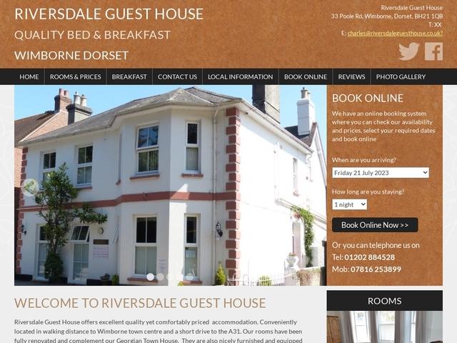 Riversdale Guest House, Wimborne, Dorset