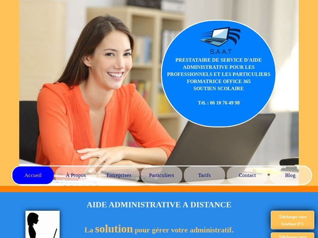 JEUMONT - SAAT aides administratives particuliers et entreprises
