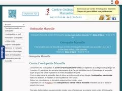 Centre Ostéopathie Marseille