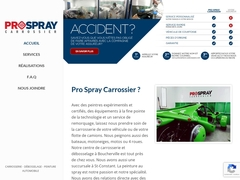 Carrosserie Spraynet