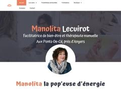 Manolita Lecuirot, réflexologue plantaire