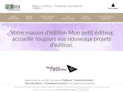 Editeur de livre.. - Maison d'édition Mon Petit Editeur