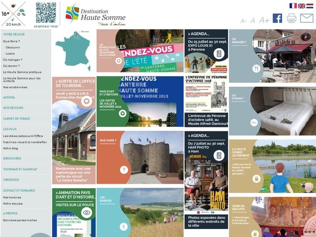 Office de Tourisme de Haute Somme - Péronne - France - Picardie