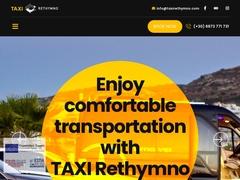Crete - Taxis & minibus - Rethymno