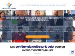 Agence de conférenciers Unique & Différent