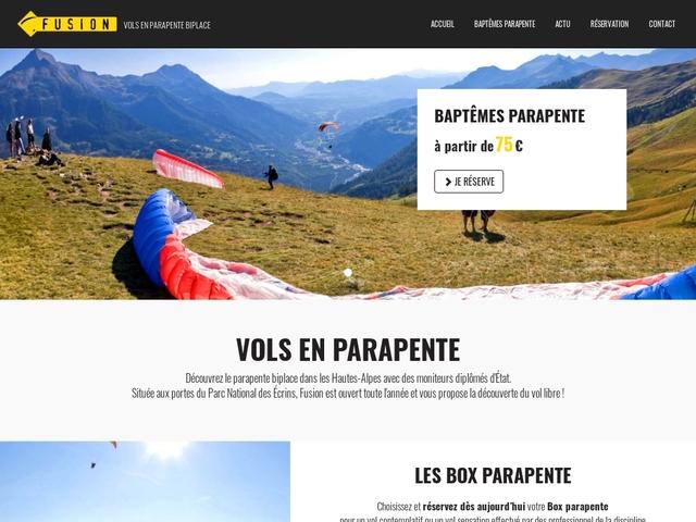 FUSION - École de parapente et speed-riding du Champsaur