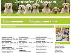 Annuaire canin : Sites internet sur les chiens