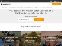 Safari.com Bookings