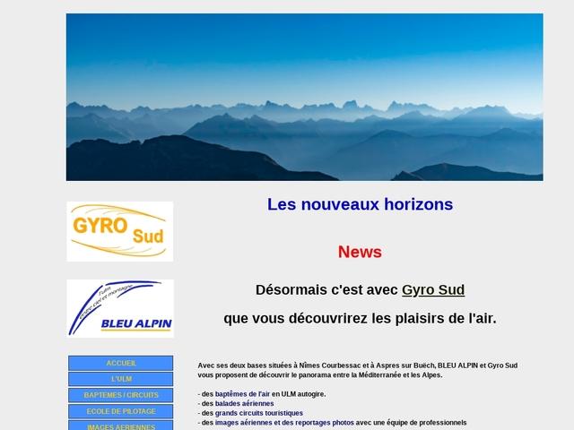 Bleu Alpin - Ecole de pilotage ULM