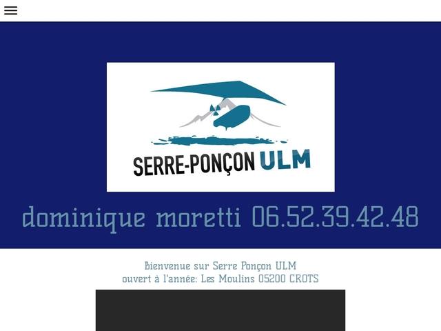Serre-Ponçon ULM