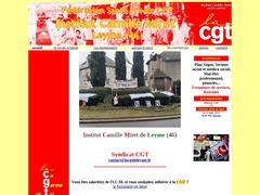 le syndicat CGT de l'ICM