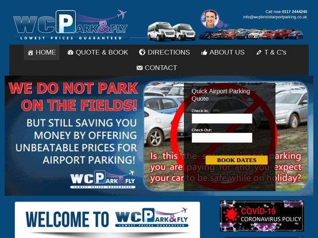 WCP Bristol Airport Parking
