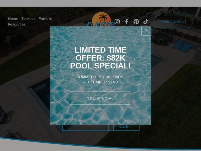 Oasis landscape group