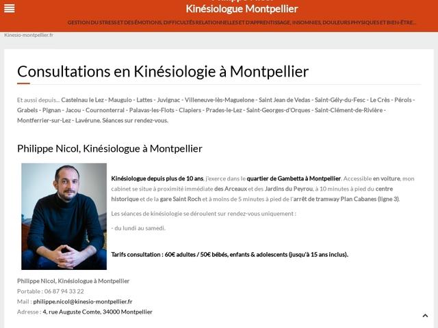 Kinésiologie Montpellier