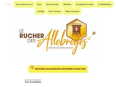 Site du Rucher des Allobroges