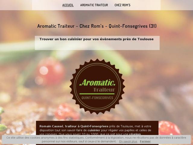 Aromatic traiteur