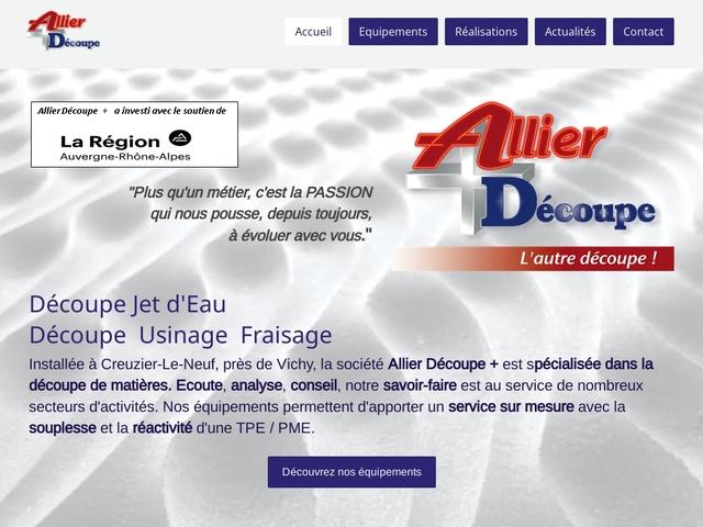 Allier-Decoupe + Sarl - (03) -Découpe Jet d'eau -Usinage CN
