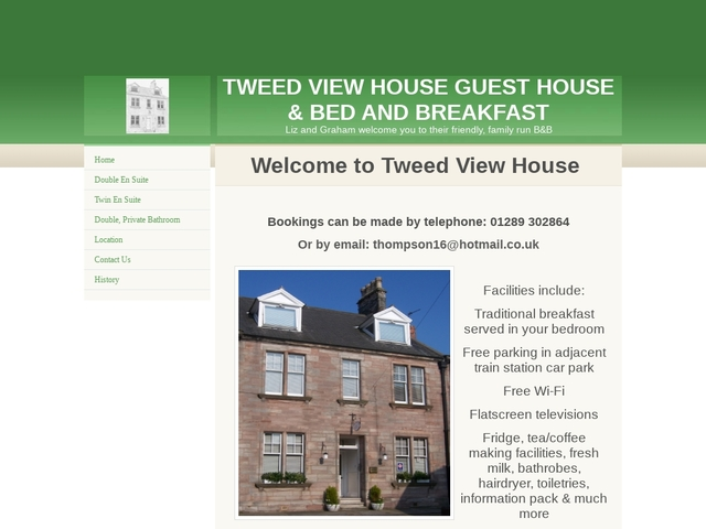 Tweed View Bed & Breakfast  - Berwick - Northumberland - TD15
