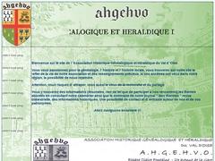 Association Historique Généalogique & Héraldique du Val d'Oise