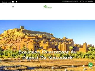 Ecovoyage transport touristique à Marrakech
