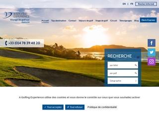 Agence de voyage de golf
