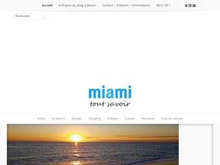 Toutes les informations pour visiter Miami