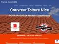 Couvreur Nice France étanchéité 06