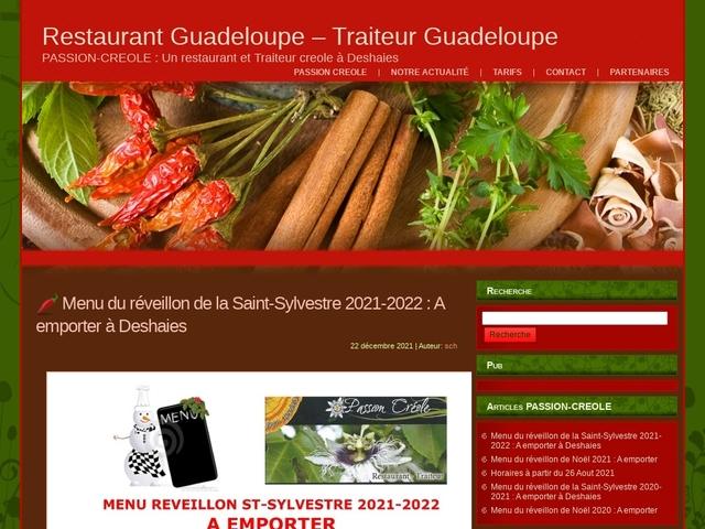 restaurant guadeloupe