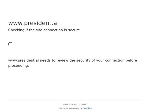 Presidenti i Rep. Shqipërisë