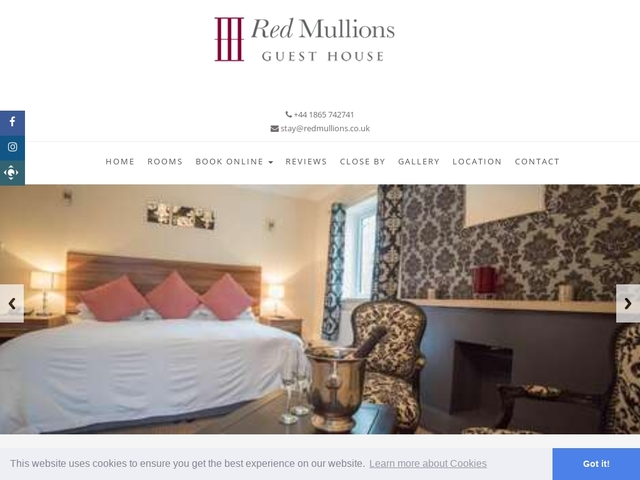 Red Mullions Guest House - Oxfordshire - England.