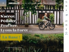 site officiel de l'office de tourisme de Normandie