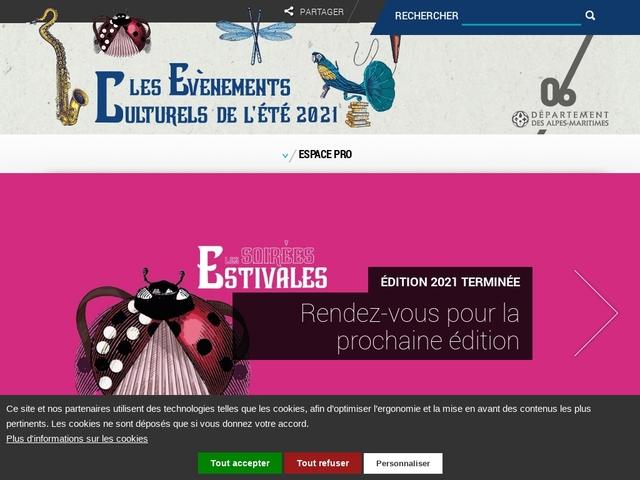 Les Soirées Estivales - Département des Alpes-Maritimes